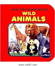 Navneet Vikas Tiny Board Books Wild Animals English