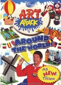 Disney Art Attack Around The World