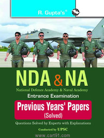 NDA And NA Entrance Examination Previous Years Solved Papers