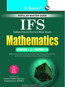Indian Forest Service Mathematics Paper I And II
