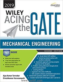 Wiley Acing the GATE Mechanical Engineering