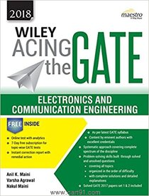 Wiley Acing the Gate Electronics And Communication Engineering