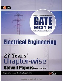 GATE 2019 Electrical Engineering 27 Years Chapter Wise Solved Papers