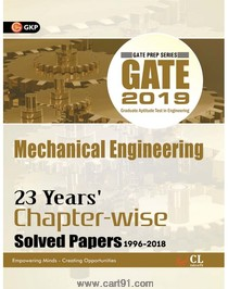 GATE 2019 Mechanical Engineering 23 Years Chapter Wise Solved Papers
