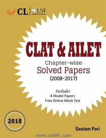 CLAT And AILET Chapter Wise Solved Papers