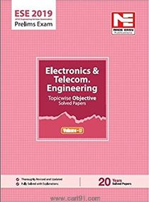 Electronics And Telecom Engineering Topicwise Objective Solved Paper Volume II