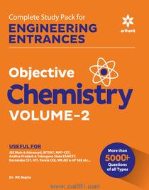 Engineering Entrances Objective Chemistry Volume 2