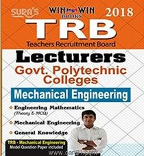 TRB Lecturers Mechanical Engineering