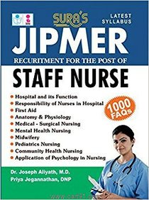 JIPMER Recuritment For The Post of Staff Nurse
