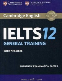 Cambridge English IELTS General Training With Answers