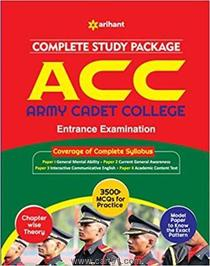 Complete Study Package ACC Entrance Examination