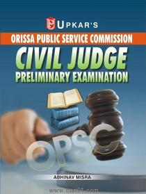 Orissa Public Service Commission Civil Judge Preliminary Examination