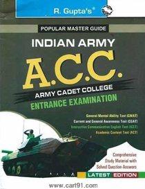 Army Cadet College (ACC) Entrance Exam