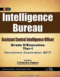 Intelligence Bureau Assistant Central Intelligence Officer Grade II