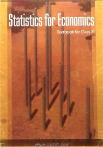 NCERT Statistics For Economics  For 11th Class