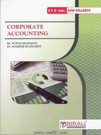 Bcom second year Corporate Accounting
