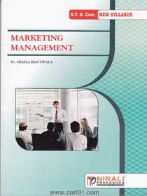 Bcom second year Marketing Management