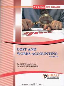 Bcom third year Cost And Works Accounting Paper III