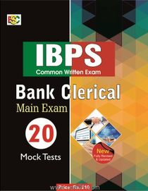 IBPS (CWE) Bank Clerical Main Exam 20 Mock Teste
