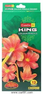 Camelin King Premium Col Pencil Tin-12