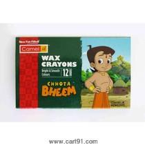 कॅमेल वॅक्स क्रेयॉन्स 12 शेड्स