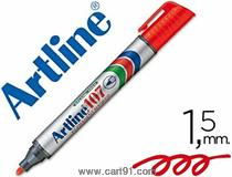 Artline Permanent Marker Ek-107 Ri Red Pk 10