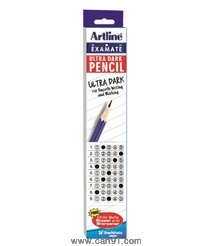 Artline Examate Ultra Dark Pencil Pack Of 10