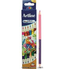 Artline Duo Tri-Art Color Pencil Set Of 6