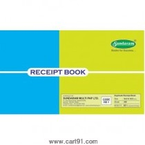 Sundaram Receipt Book (Duplicate) 50 Leaves