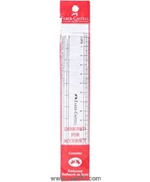 फॅबर कास्टेल स्केल - पारदर्शक ब्रॉड 30 सेमी