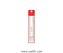 Faber Castell Scale -Transparent Slim 15m Pkt Of 10 Scales