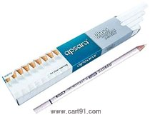 Apsara Glass Marking Pencils White