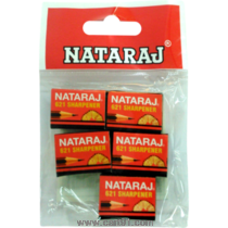Nataraj Sharpener 621 Pouch Pack Of 5 Set Of 10 Pouches
