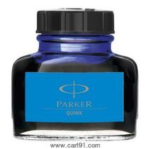 Parker Quink Refill Ink Bottle Blue