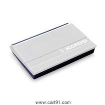 Kores Feather Touch Stamp Pad Blue