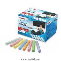 Kores Britemark Dustless Chalk Colored -50 Nos