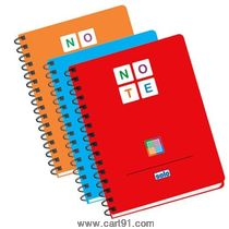 Solo Note Book (140 Pages) 3 Color A5
