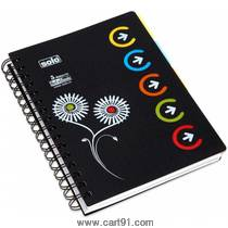 Solo 5-Subjects Note Book (300 Pages) A5