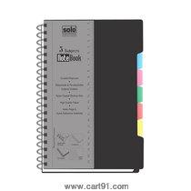 सोलो 5-विषय नोटबुक (300 पृष्ठे)