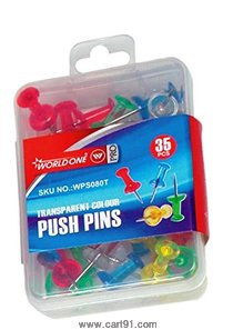 World One Push Pins - (Wps080t)