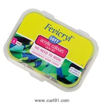 Fevicryl Acrylic Colors Kit Soft 60ml