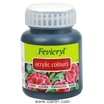 Fevicryl Acrylic Colors Black 100ml