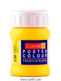 Camel Poster Colors 100ml Lemon Yellow (236) Series 1