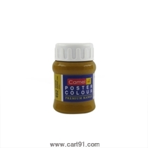 Camel Poster Colors 100ml Yellow Ochre (492) Series 1