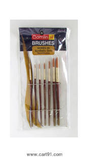 Camel Synthetic Round Brush Sr-66 Pack Of 7