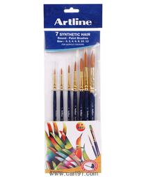 Artline Paint Brush Synthetic Round No - 0,2,4,6,8,10,12