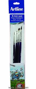 Artline Paint Brush Pony Round No - 0,2,4,6