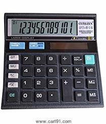 Citizen Ct 512 Calculator Black