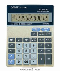 Orpat Calculator Ot-1500t