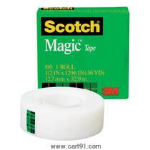 स्कॉच मॅजिक टेप 12mm